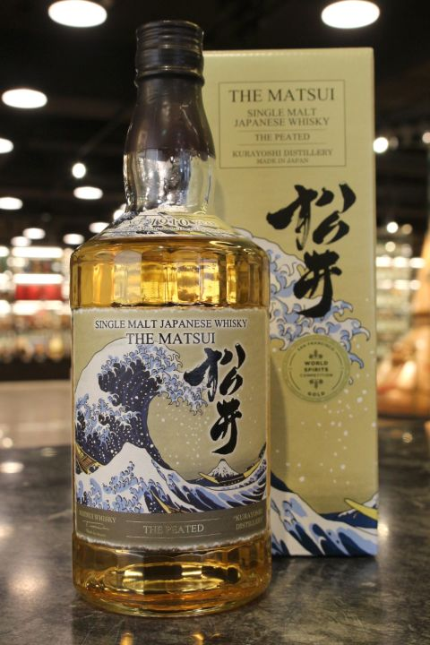 Matsui The Peated Single Malt Whisky 松井 泥煤 單一純麥威士忌 (48% 30ml)