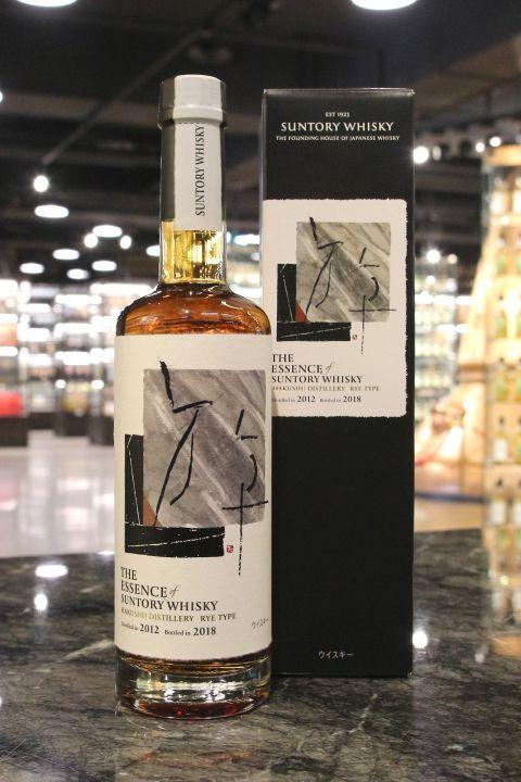 The Essence of Suntory Whisky 1 - Hakushu 2012-2018 Rye Type 白州 4年 裸麥 單一殼物 (57% 30ml)