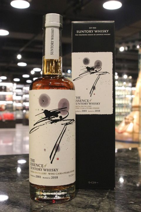 The Essence of Suntory Whisky 1 - Chita 2001-2018 Wine Cask Finish  知多 16年 紅酒桶 (49% 30ml)