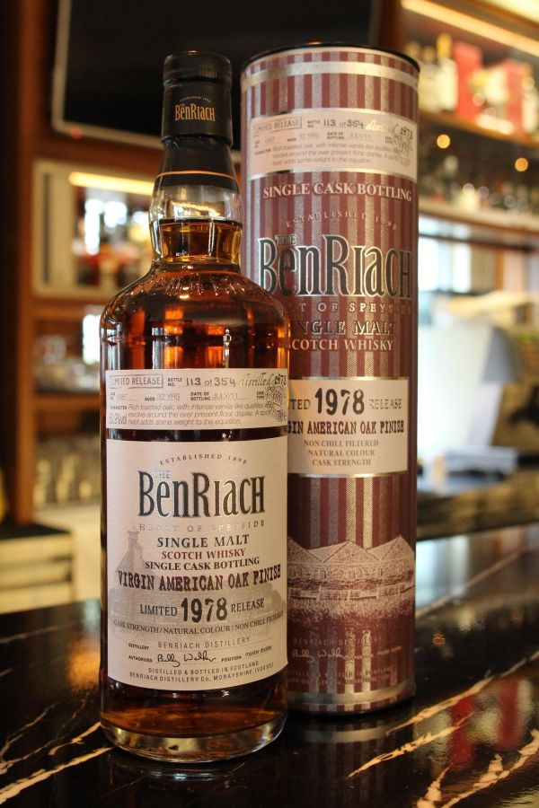 BenRiach 32 years Virgin American Oak 班瑞克 32年 美國處女桶 單桶 (700ml 50.9%)
