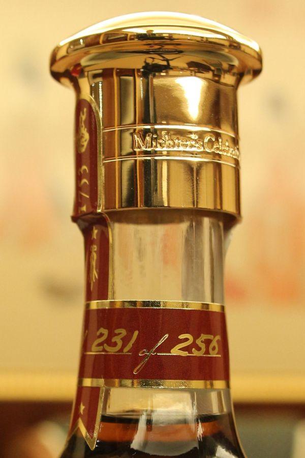 ~ Kuva Whisky 古華酒藏 ~(現貨) Michter's Celebration Sour Mash 酩帝詩 酒廠頂級限定版 稀有18K金瓶蓋 (700ml 58.4%)(現貨) Michter's Celebration Sour Mash 酩帝詩 酒廠頂級限定版 稀有18K金瓶蓋 (700ml 58.4%)