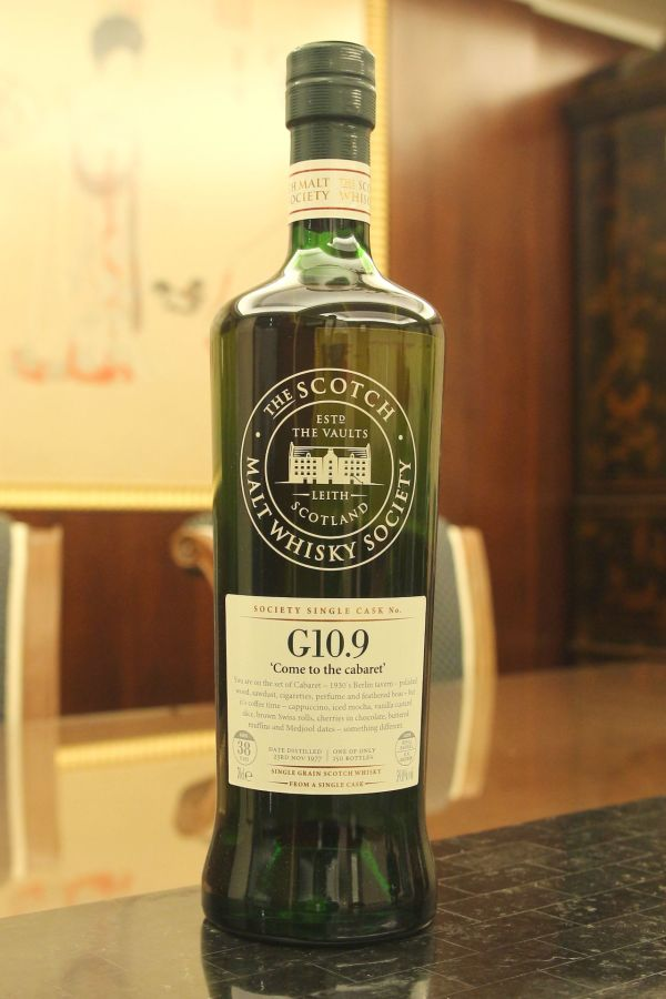 (現貨) SMWS G10.9 Strathclyde 38 years 史崔克萊 單桶原酒 38年 蘇格蘭威士忌協會 (700ml 59%)