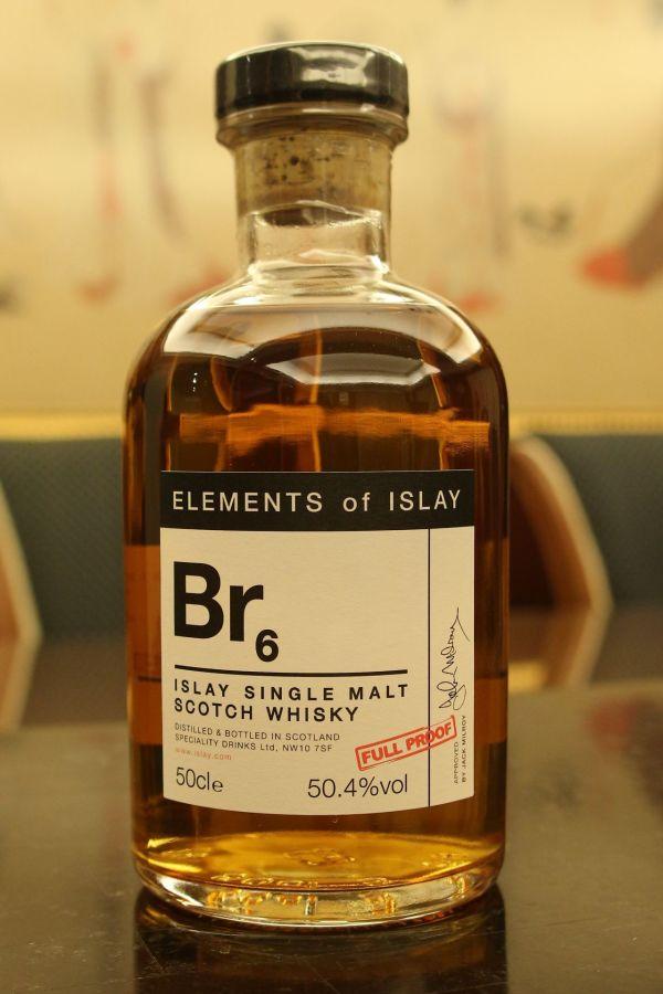 (現貨) Elements of Islay Br6 艾雷元素 Br6 布萊迪 原酒 (500ml 50.4%)