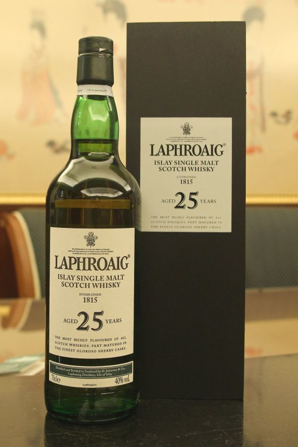 (現貨) LAPHROAIG 25 years 2007 Edition 拉佛格 25年 2007首版 (700ml 40%)