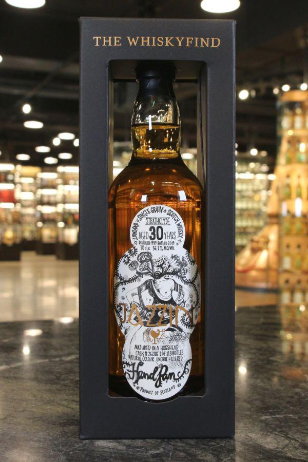 (現貨) The Whiskyfind - JAZZIN- HANDPAN - Strathclyde 1989 30 Years Single Grain 魔幻手碟 (700ml 56.1%)