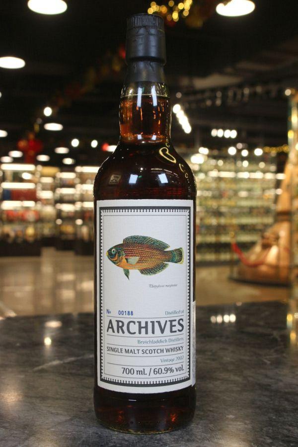 (現貨) Archives - Bruichladdich 2002 16 Years Sherry Cask 布萊迪 16年 重雪莉風味 (700ml 60.9%)