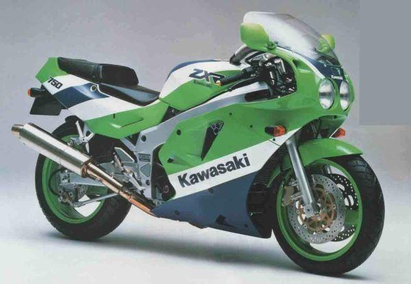 1990 KAWASAKI ZXR750