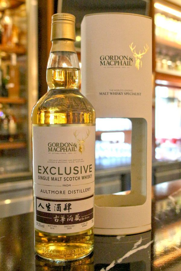 Aultmore 2000~2016 Single Cask 雅墨 16年 古華酒藏單桶原酒 (59.2% 30ml)
