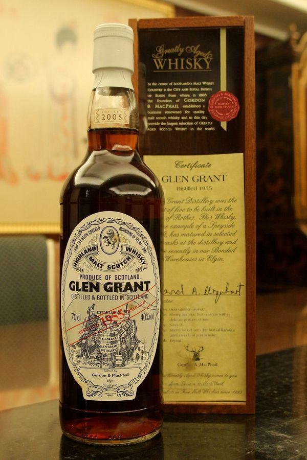 Glen Grant 1955 50yr  - Golden & MacPhail 格蘭冠 1955 50年(40% 30ml)