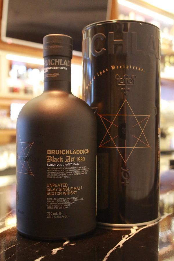 Bruichladdich 23yr Black Art 1990 布萊迪 1990  黑色藝術 (49.2% 30ml)