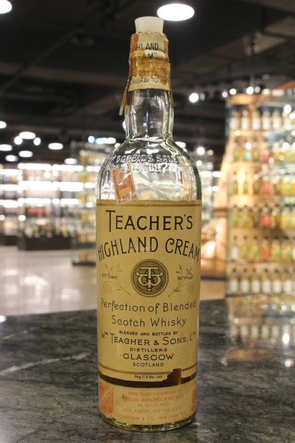 Teacher's Highland Cream Perfection Blended 教師 調和威士忌 60年代 (49.1% 15ml)