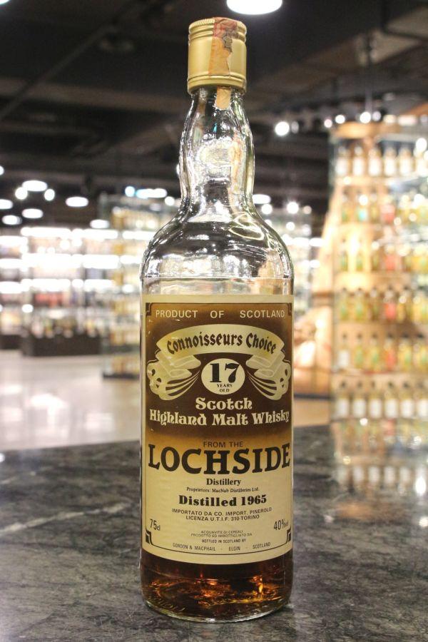 Lochside 1965 17yr -  Gordon & MacPhail Connoisseurs Choice 洛克塞 1965 17年 高登麥克菲爾 (40% 15ml)