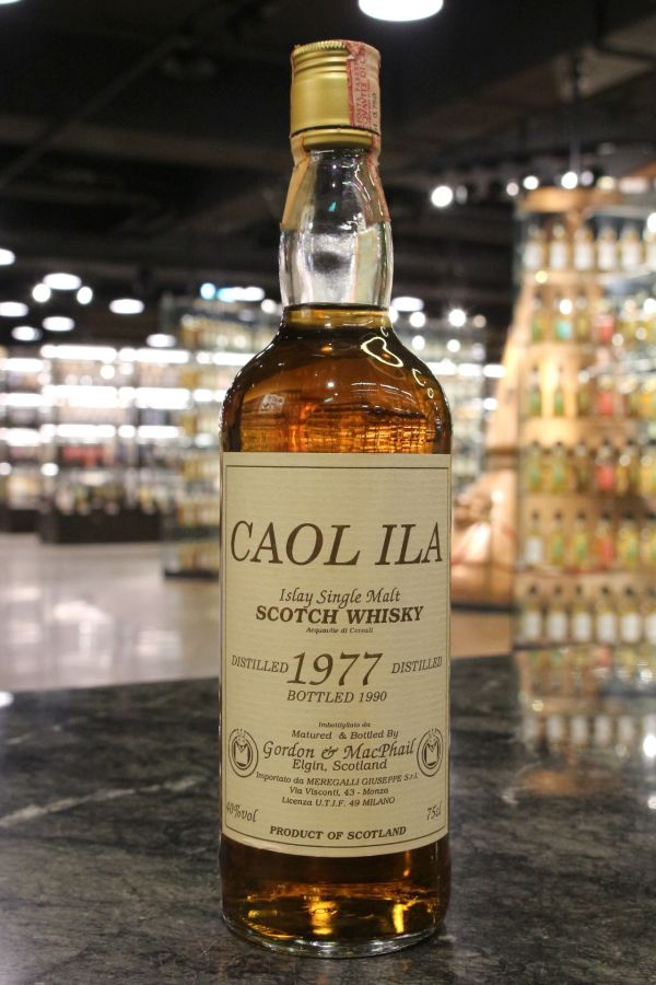 Caol Ila 1977 Bottled 1990 - Gordon & MacPhail 卡爾里拉 1977 高登麥克菲爾 (40% 15ml)