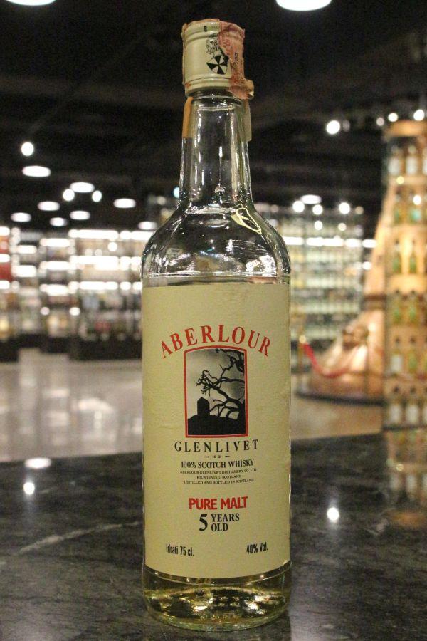 Aberlour 5yr Pure Malt Whisky 亞伯樂 5年 純麥威士忌 80年代早期 (40% 15ml)