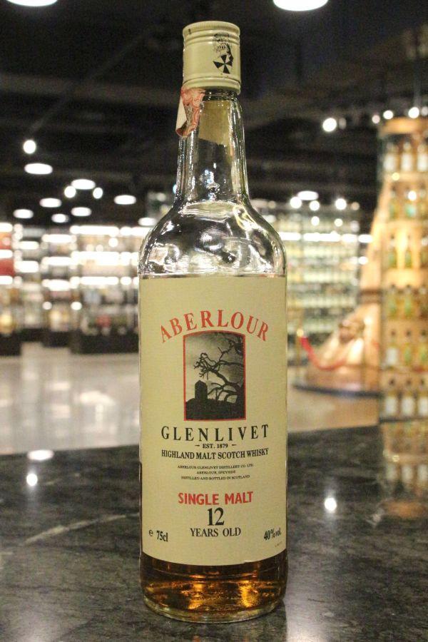Aberlour-Glenlivet 12yr Single Malt Whisky 亞伯樂-格蘭利威 12年 80年代早期 (40% 15ml)