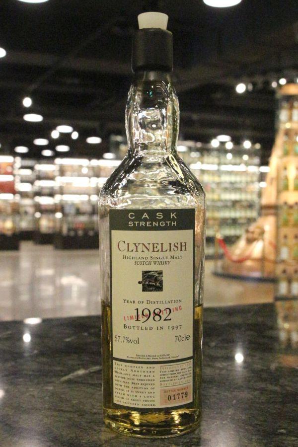 Clynelish 1982~1997 Cask Strength 克萊力士 1982 限量原酒 (57.7% 15ml)